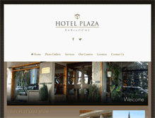 Tablet Preview of hotelplazabariloche.com.ar
